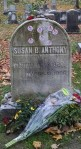 SBA headstone on election day
